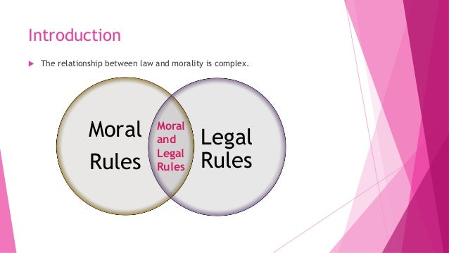 moral law in trifles
