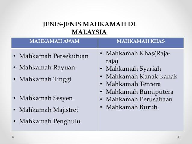 Sistem Kehakiman Malaysia #STPM Slide 2