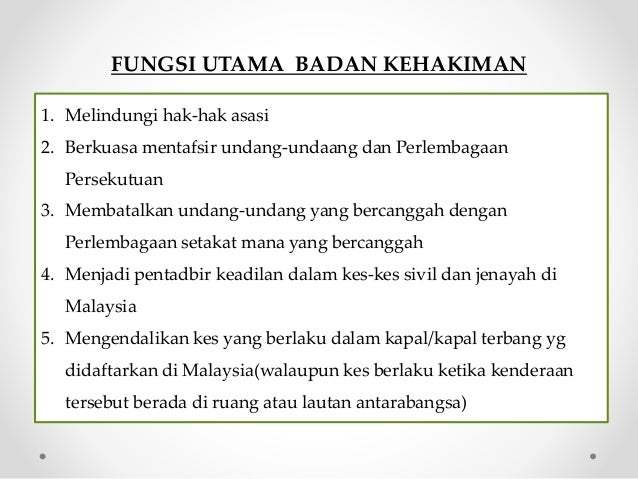 Sistem Kehakiman Malaysia #STPM Slide 3