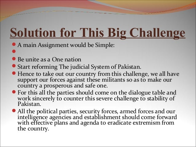 Law order situation pakistan essay
