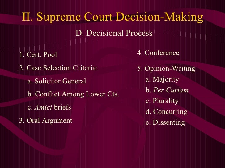 an analysis of the oral argument process in the supreme court Breadcrumbs indiana supreme court oral arguments current:  traveling oral argument traveling oral argument the supreme court will travel to anderson university's reardon auditorium in anderson (madison county), to hear oral arguments on wednesday, september 26, at 10:00 am edt.