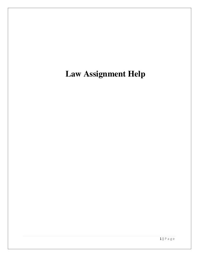 Law Assignment Help On Australian Contract Law   P A G E Law Assignment Help
