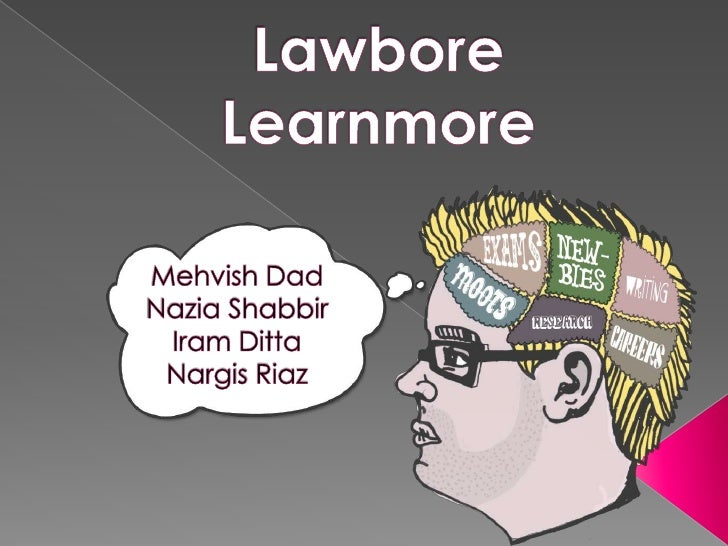  Learnmore is the essential guide to the legal world. It  consists of articles, videos, tutorials and  presentations. The...