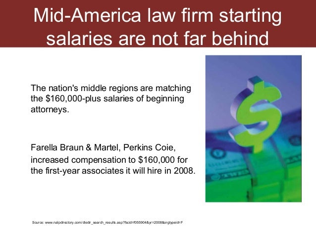 Law Firm Salaries And Growth Legal Job Market