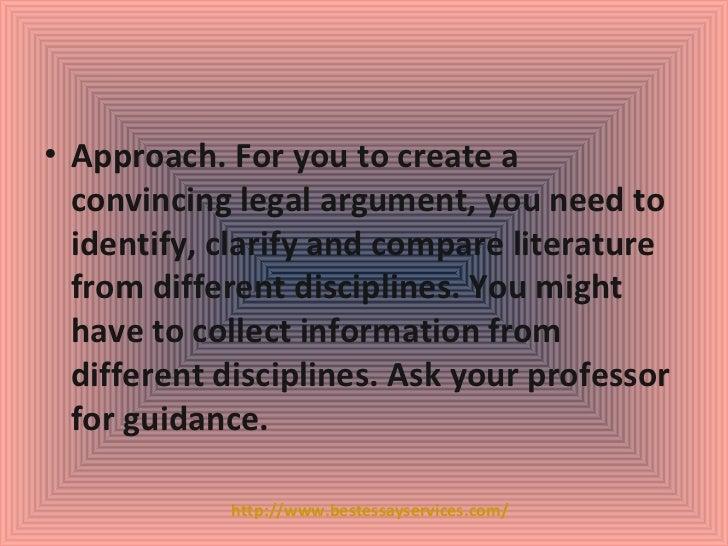 Law dissertation writing