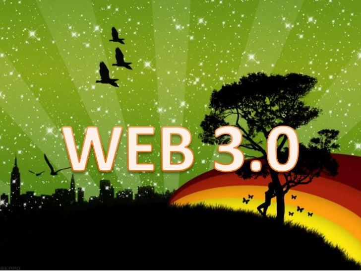 Web 3.0 también ha sido utilizada para describirel camino evolutivo de la red que conduce ala inteligencia artificial. Alg...