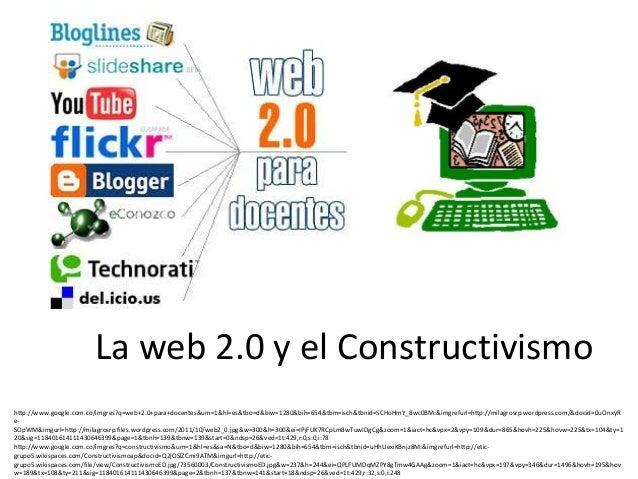 La web 2.0 y el Constructivismohttp://www.google.com.co/imgres?q=web+2.0+para+docentes&um=1&hl=es&tbo=d&biw=1280&bih=654&t...