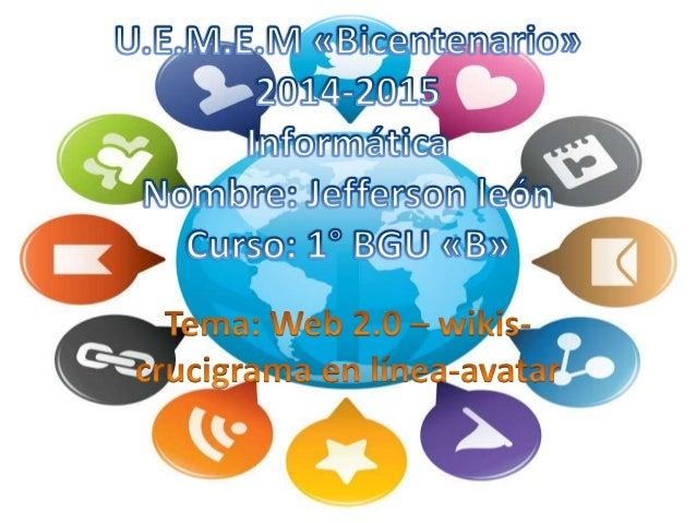 • La web 2.0 sirve para comunicarse entre diferentes personas y esto permite a los usuarios dar opiniones , comentarios e ...