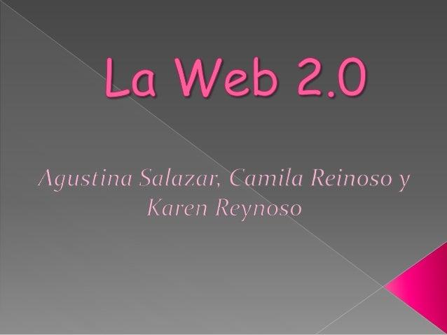  Web 2.0 es un concepto que se refiere al fenómeno social surgido a partir del desarrollo de diversas aplicaciones en int...