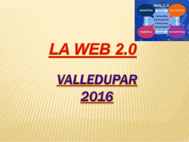 web 2.0 es un concepto que se acuñó en 2004 y que se refiere al fenómeno social surgido a partir del desarrollo de diversa...