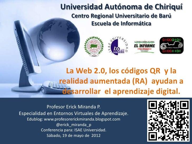 Universidad Autónoma de Chiriquí                        Centro Regional Universitario de Barú                             ...