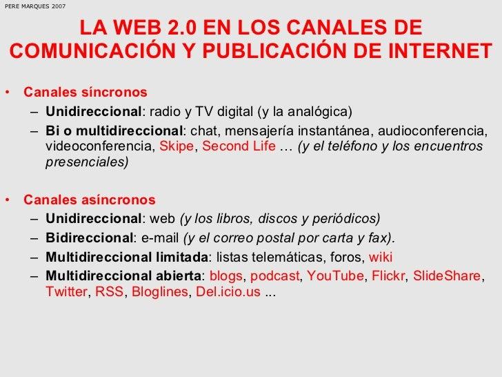 La Web 20 Y Sus Aplicaciones Didcticas Slide 2
