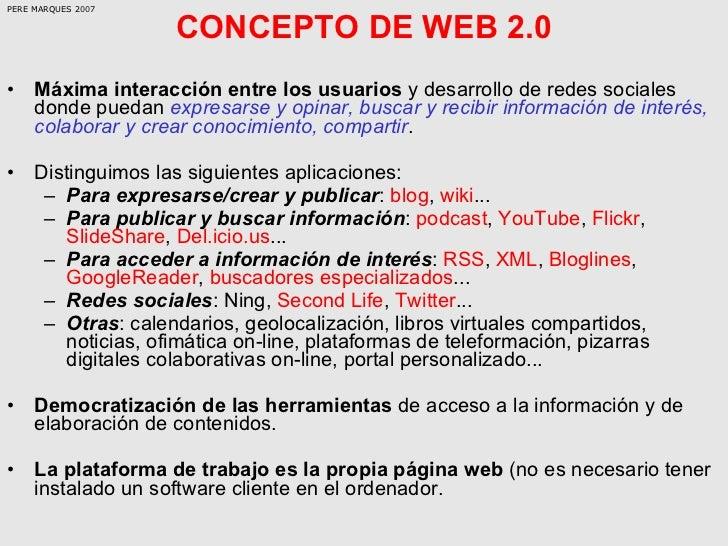 La Web 20 Y Sus Aplicaciones Didcticas Slide 3