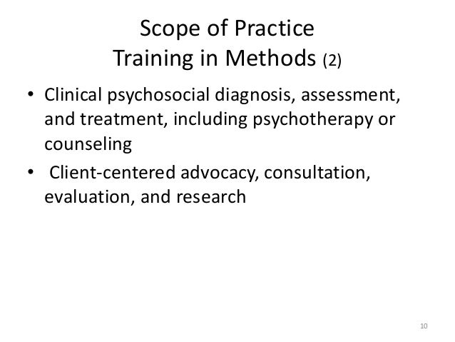 the effectiveness of working practices and strategies used to minimize abuse in health and social ca The need for clinical social workers in the fields of mental health and substance abuse is expected to rise by 20% between 2008 and 2018 (bureau of labor statistics, 2010), and expert forecasts indicate that cbt will be increasingly in demand and used among social workers (prochaska & norcross, 2010.