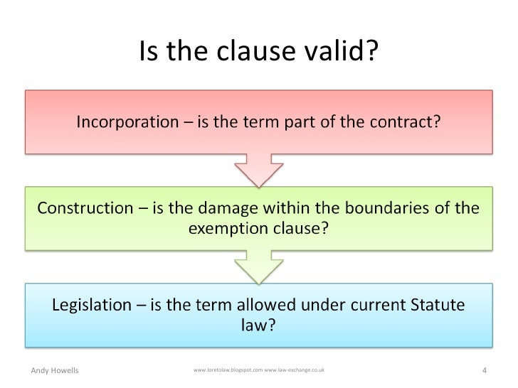exemption clauses case olley v marlborough 1949 Fundamental breach of contract - 'however extensive an exemption clause  duration of nonstatutory exemption powell v  exemption clauses.