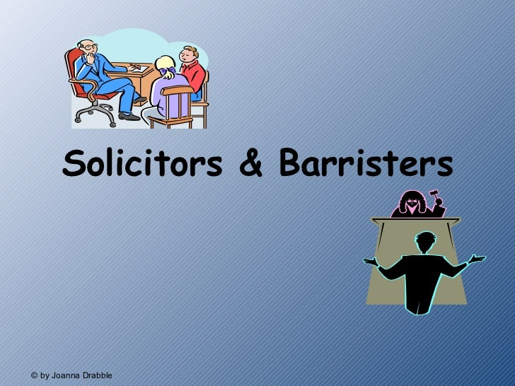 Solicitors & Barristers