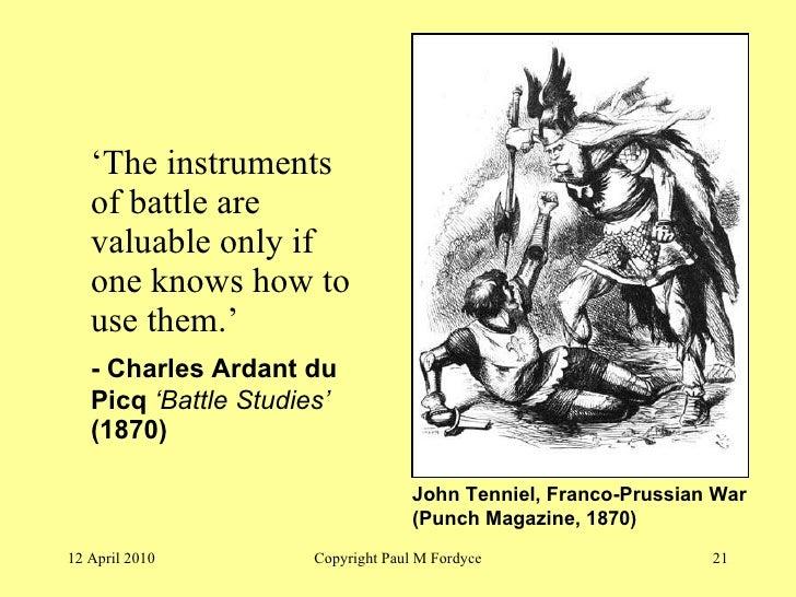 Du picq battle studies
