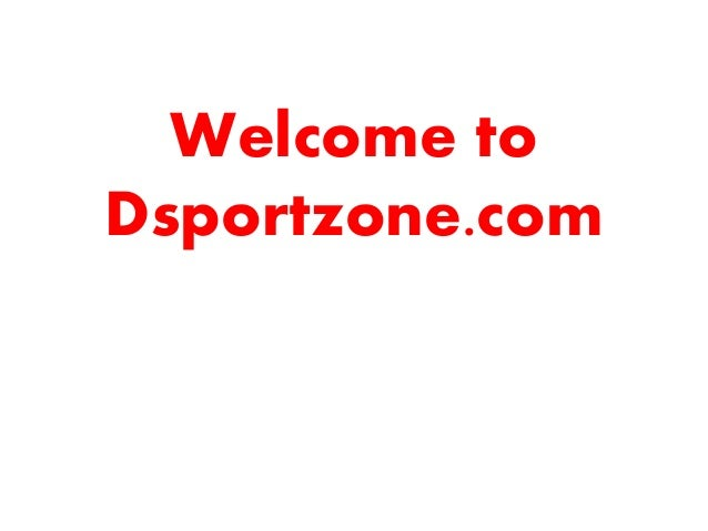 Welcome to Dsportzone.com