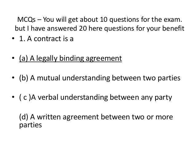 contract law & agency law essay Contract law question and answer question : discharge of contract we engaged a company to develop some software for us they did an initial development from 06-07 which was fine we engaged them again to augment the system to include a new billin.