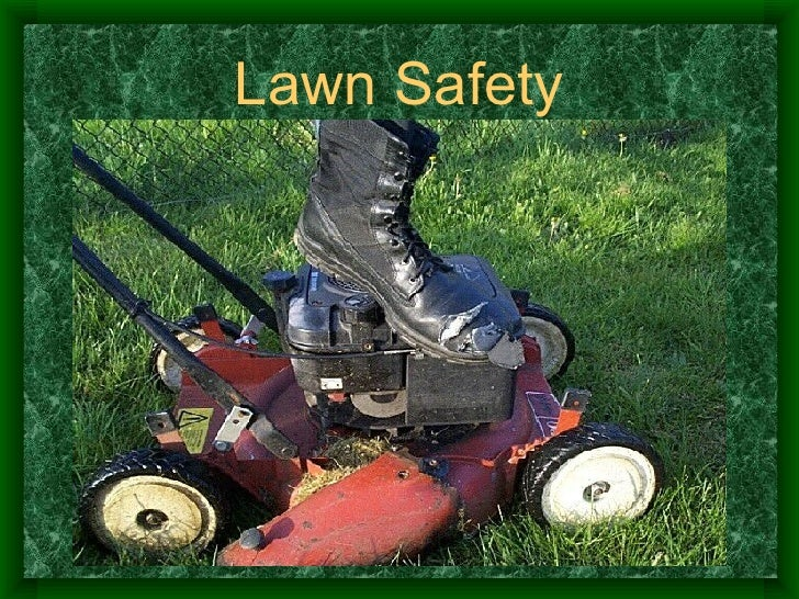 Lawn Tractor Safety : Lawn mower safety