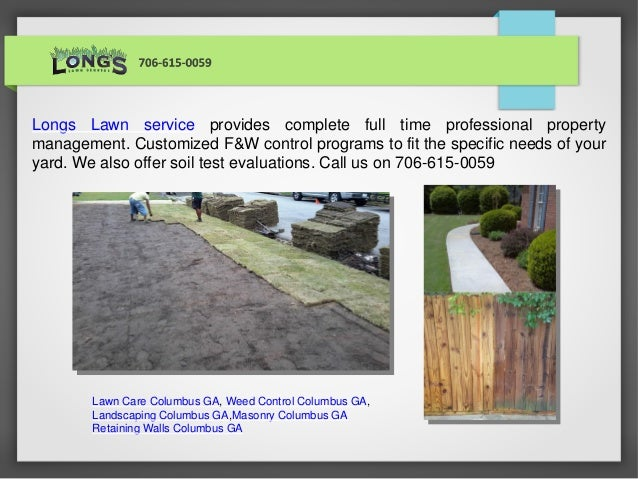 ... retaining walls columbus ga. Longs Lawn service provides complete full  time professional property management. Customized F&W control programs to  ... - Lawn Care, Weed Control, Masonry, Retaining Walls Columbus Ga