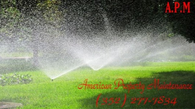 American Property Maintenance is the best lawn sprinkler repair company in pasco county Florida. When it comes to your law...