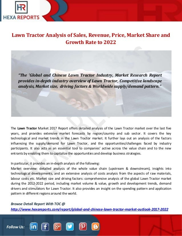 etop analysis of tractor industry Tractor industry in india – present and future the tractor industry 23 segment-wise analysis 5 1 the indian tractor market is traditionally a medium.