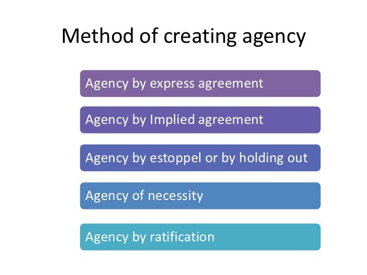 Law Of Agency