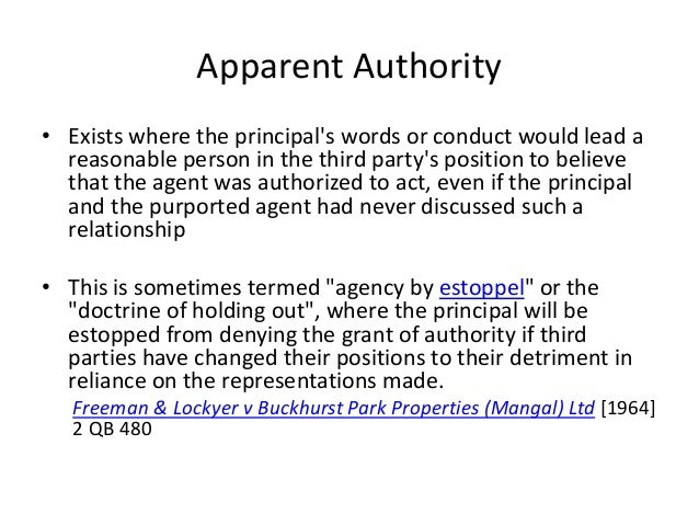 express or implied authority The authority of an agent to enter into contracts on behalf of an example of express actual authority is the passing of a implied actual authority.