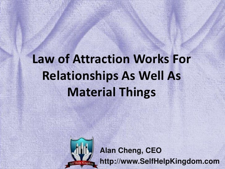 law of attraction dating website It was the summer of 2009 i was a 21-year-old college student who had just  returned home from an amazing six months studying abroad in.