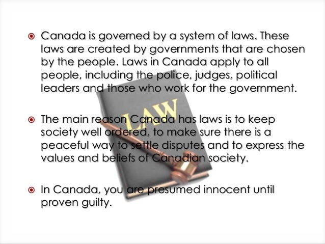 laws of canada