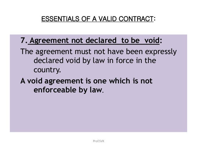 Law Of Contract Business Law