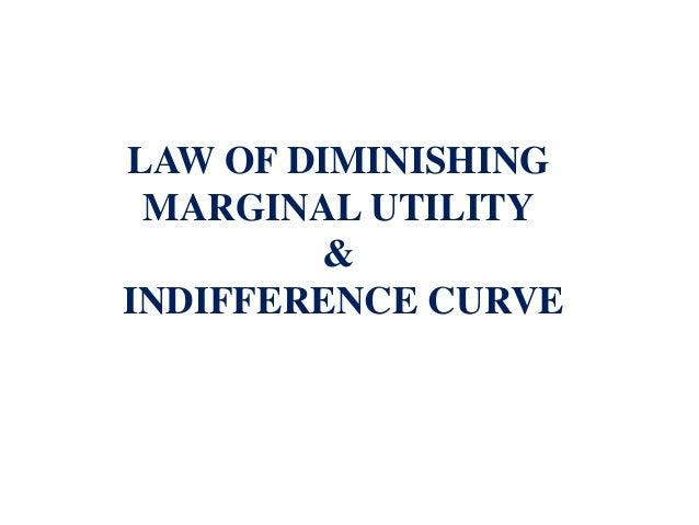 law of diminishing marginal