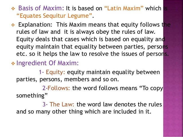 legal latin case and maxim review The term maxim is the latin equivalent of axioma3 meaning a first principle, for exam-ple, of geometry  campbell law review ness most of the maxims are not evidently first principles and  ancient legal maxims and modern human rights ancient legal maxims 1996] + ----of  of law  campbell  - campbell law review.