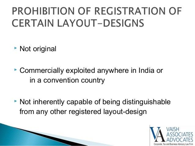 integrated circuit layout design protection india - 28