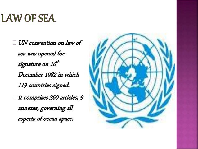 3 UN Convention On Law Of Sea