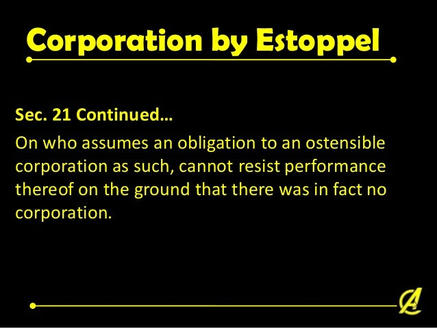 Inoperation 15. If a corporation fails to commence business from two(2) years from date lf its incorporation, there shall ...