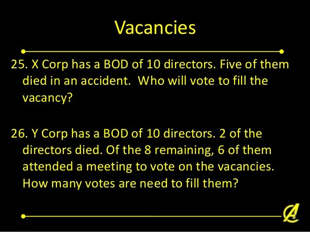 Liability of Directors 27. True or False. The directors of a corporation voted on an illegal act to be executed by the cor...