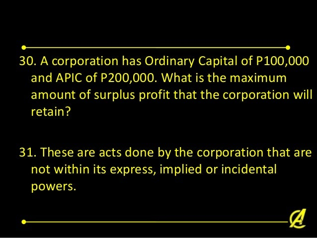 Law on corporation part 2
