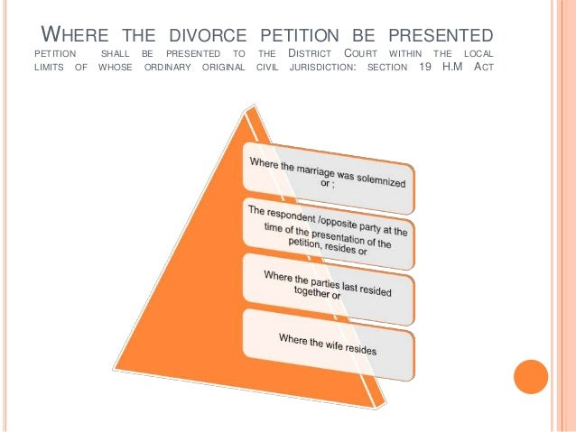 Law and Procedure of Divorce in Hindu Law