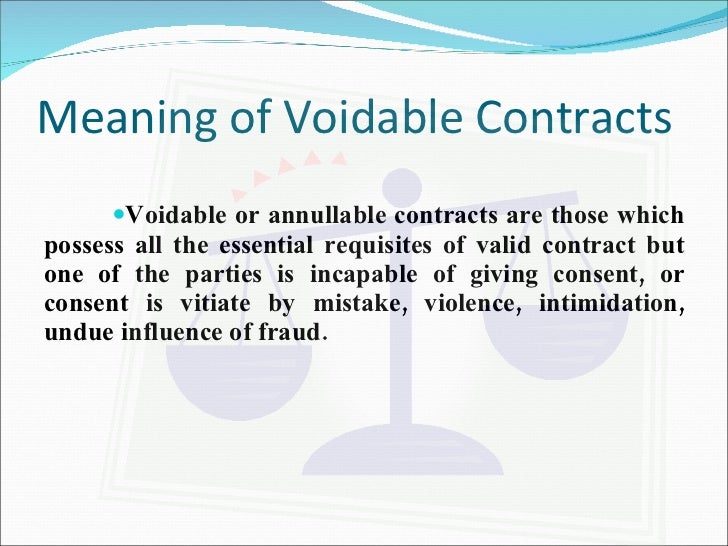 defective contracts Definition of defective contract: a contract with no legal sufficienc  because it is incomplete or incorrect it is not.