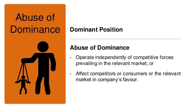 What Constitutes Abuse Of Dominant Position Under Competition Law