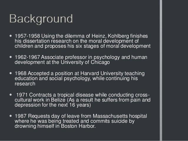 Lawrence kohlberg for Moral development 0 19