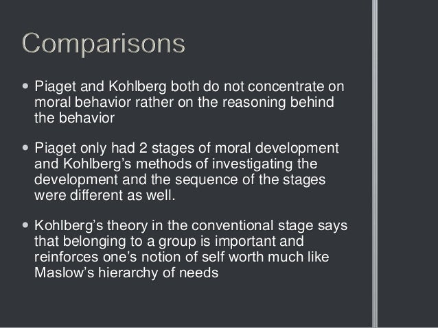 essays on moral development the philosophy of moral Instructions : read pages 274-276 of your text explaining kohlberg's theory of moral development do research in other sources to provide you with a more in-depth.