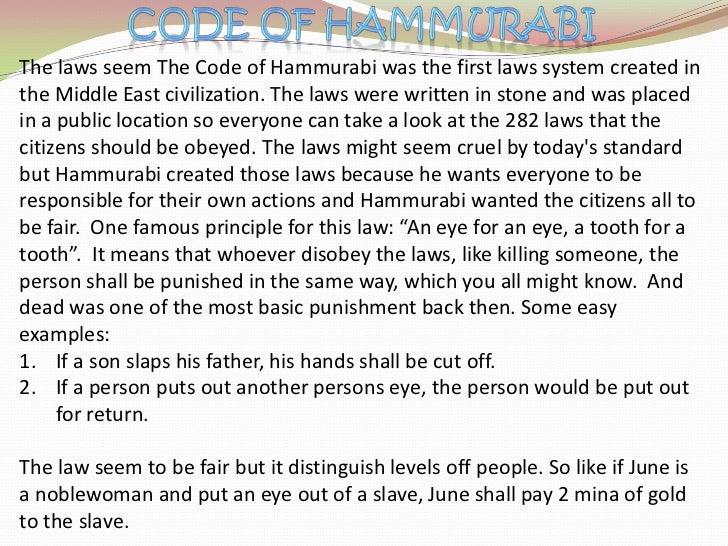 HAMMURABIS CODE WAS IT JUST PDF