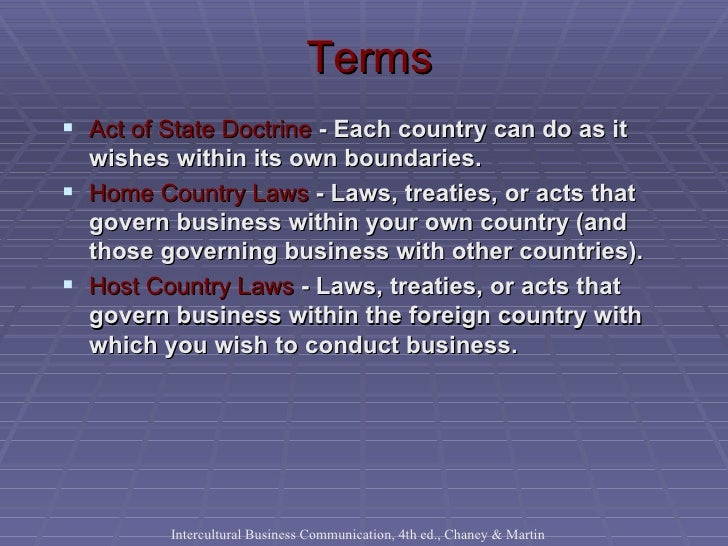 Government Laws That Affect Businesses