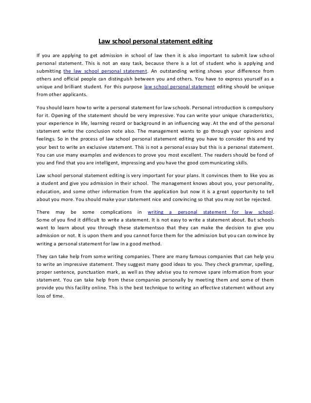 school personal statement essays law school personal statement essays