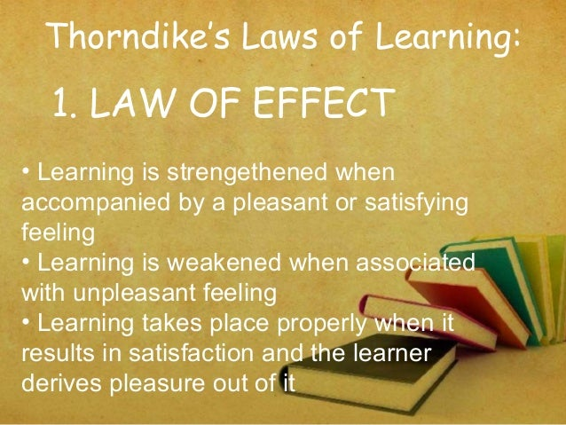 thorndike learning