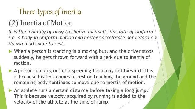 law of inertia formula. 9. three types of inertia law formula