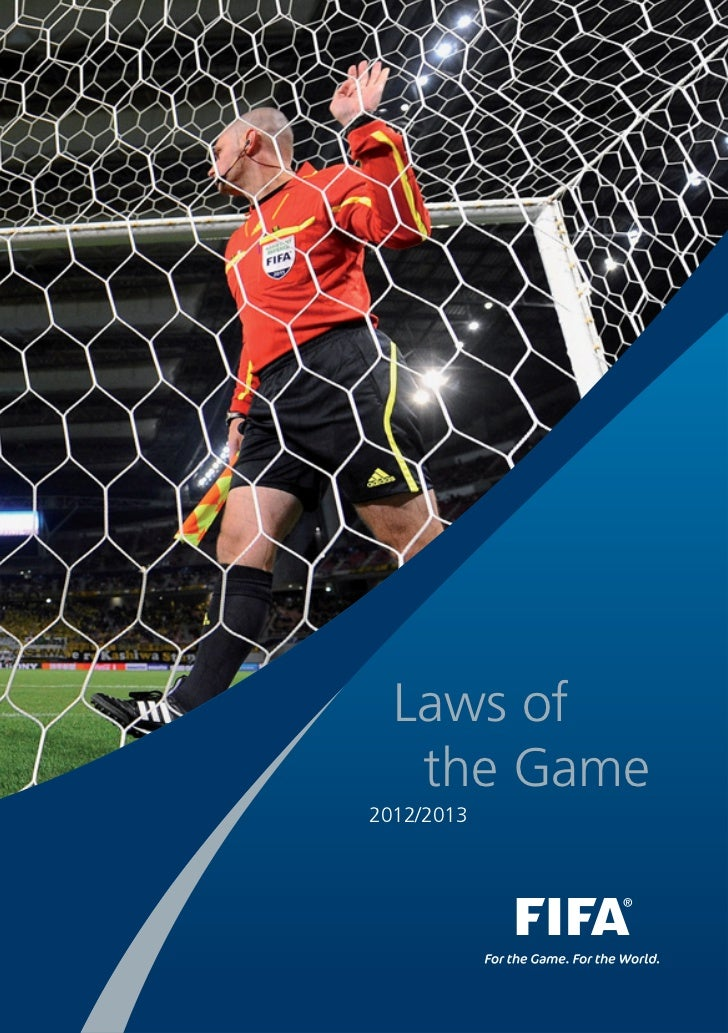 Laws of   the Game2012/2013